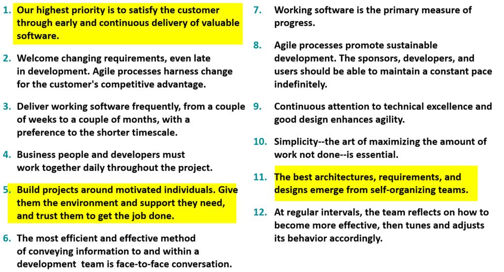Agile Principles