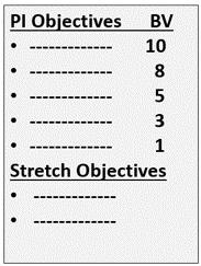 Stretch Objectives